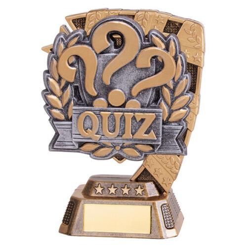 QUIZ EUPHORIA TROPHY FREE LUXURY ENGRAVING Quizzing Award Budget Award