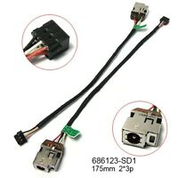 Dc Power Jack Cable Hp Envy 4-1000 6-1000 6t-1000 Series 686123-sd1 686123-fd1