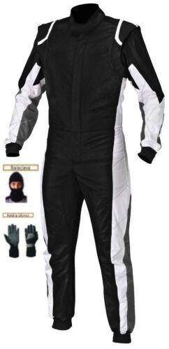 free balaclava and gloves Kart race suit CIK//FIA level 2