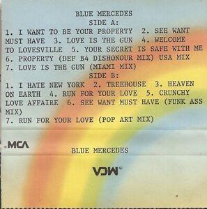 Blue Mercedes – Rich And Famous  Promo  Cassette Tape
