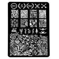 DIY Multi Pattern Nail Art Image Stamp Stamping Plates Manicure Template L1