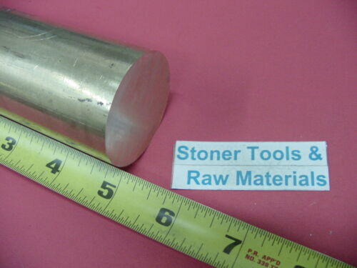 "1-3//4/"" C360 BRASS ROUND ROD 5/"" long Solid H02 Lathe Bar Stock 1.75/"" OD x 5.00/"""