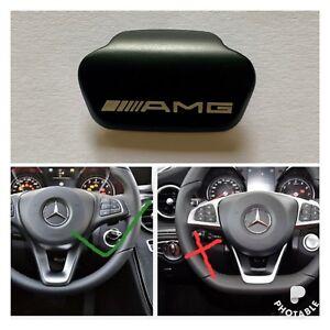 Mercedes-Benz-AMG-Black-steering-wheel-emblem-decal-sticker-badge-decoration-UK