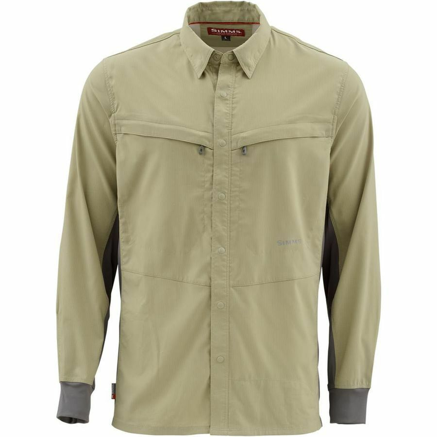 SALE Simms Intruder BiComp LS Shirt Shirt LS Sage XL NEW FREE SHIPPING 13fe86