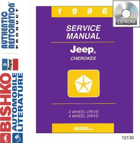 1996 Jeep Cherokee Shop Service Repair Manual CD