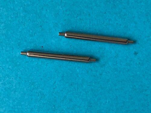 2Stück 18mm Eichmüller Premium Edelstahl Federstege 1,50mm Ø für Uhren Armbänder