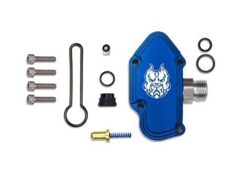 Sinister Diesel Blue Spring Kit with Billet Spring Housing for 2003-07 Ford 6.0L