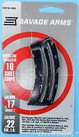 Savage 10 Rd Round Magazine 22 Lr 17 Mach 2 Genuine Clip Mag Mark Ii 501 20005