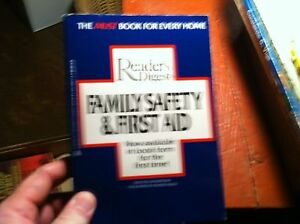 9316-VINTAGE-BOOK-READERS-DIGEST-FAMILY-SAFTEY-FIRST-AID
