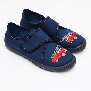 separation shoes c03d7 ebce2 Details zu Superfit Hausschuhe Feuerwehr Jungen Gr 31 32 33 34 35