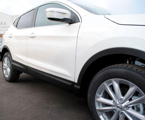 Nissan Qashqai 2014 Door Body Side Protection Mouldings White QAB KE7604E52Q