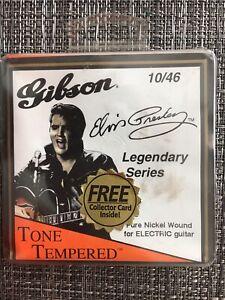 Elvis Presley, Gibson, Legendary Series, 10/46 Electric, Nickel Guitar Strings
