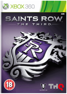 XBOX-360-Saints-Row-Il-terzo-3rd-Nuovo-e-Sigillato-Compatibile-Xbox-One