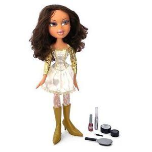 bratz yasmin doll funky fashion makeover doll 2ft tall