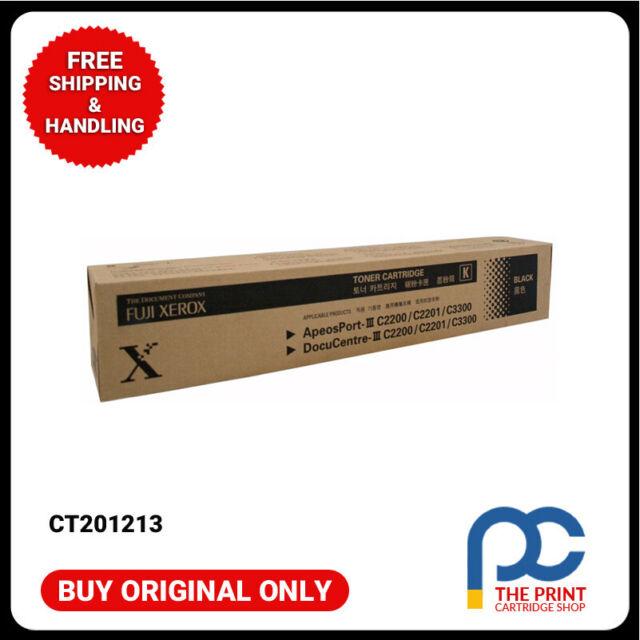Original CT201213  Fuji Xerox Black Toner Cartridge ApeoSport III 2200 2201 3300