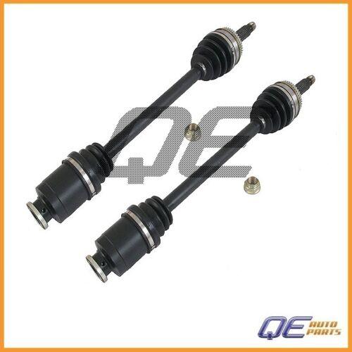 2 Front Left /& Right CV Axle Shaft For Subaru Impreza Original Performance