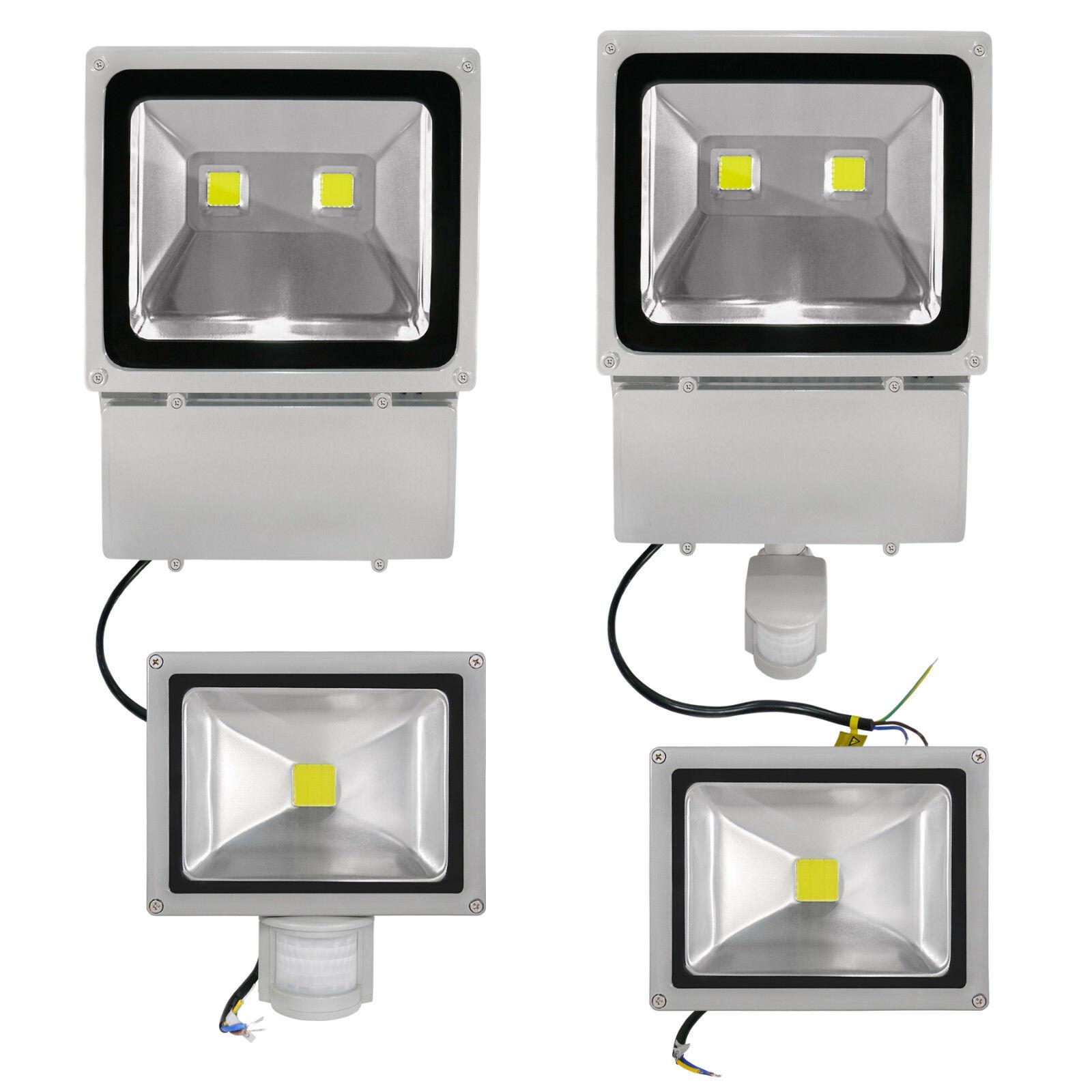 Cob LED Proyector Foco de Exterior LED LED Foco blancoo Frío con sin 180° Bm