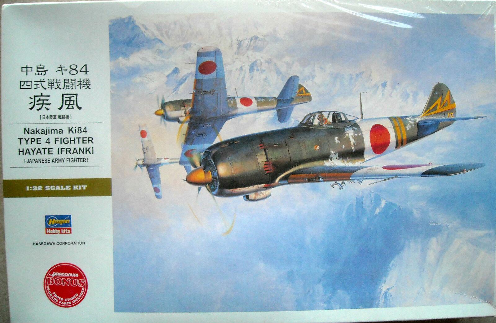 Hasegawa 1  32 Nakajima Ki84 Fighter Hayate (Frank)