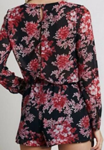 Floral Romper Away Rare Small Chiffon People 128 Printed Boho Free Float XwxqaHC