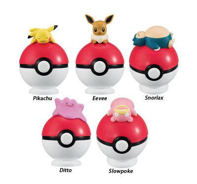 Pokemon Desktop Display Tamaeland Decoration SD Figure Pokeball ~ Ditto @22607