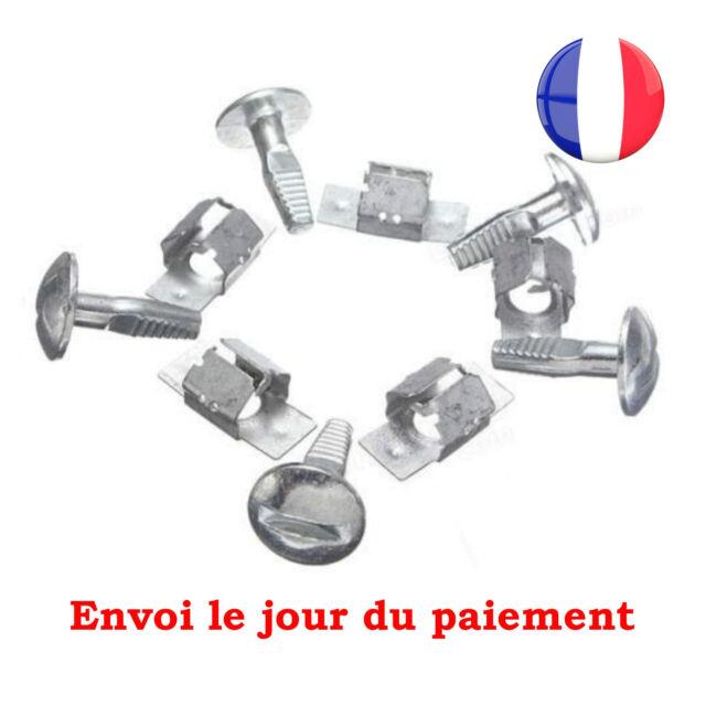 Kit 5 Clips + 5 Vis de Fixation Protection Sous Moteur pour Peugeot et Citroen