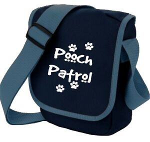 Dog-Bag-Pooch-Patrol-amp-Paw-Prints-Shoulder-Bags-Handbag-Birthday-Gift-Dog-Walker