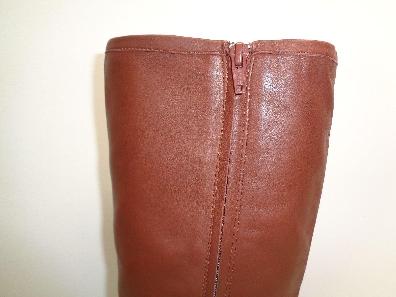 Antonio Melani Größe 6.5 M PERCY Braun Leder Knee High Stiefel NEU Damenschuhe Schuhes