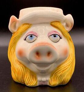 Miss-Piggy-Henson-Muppets-Mug-Ceramic-Cup-Tastesetter-Sigma-Japan-Vintage-Tags
