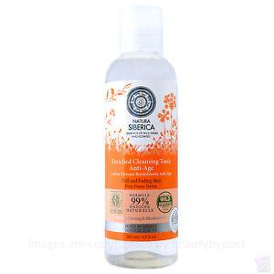NATURA Siberica tonico detergente anti-età per la pelle opaca dissolvenza 200ml