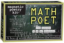 Magnetic Poetry Kit - Math Poet