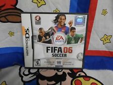 Nintendo DS FIFA Soccer 2006  Game COMPLETE