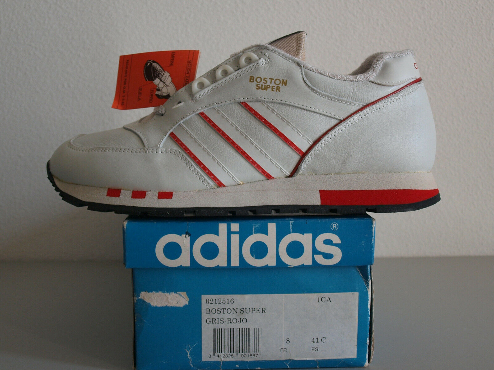 Adidas Boston Super Made In Spain US 8 Eur 41 Vintage Unique Torsion ZX Rare OG