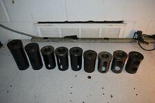 25 Od Turret Lathe Machine Adapter Sleeve Tool Holder Shank Reducer Lot Of 9