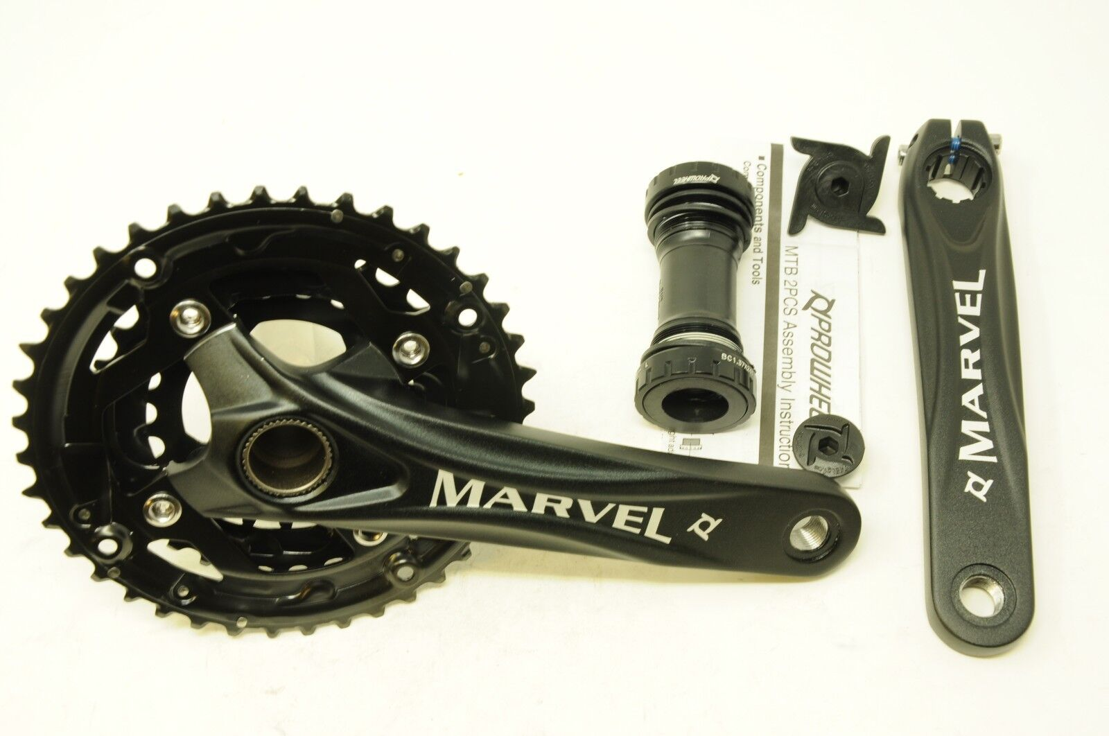 PROWHEEL 10 SPEED MTB CHAINWHEEL SET MARVEL 40 30 22T 170mm TRIPLE CHAINSET NEW