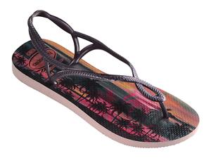 Havaianas Luna Print Cf infradito donna rosa ciabatte mare per l/'estate