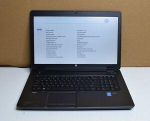 Hp Zbook 17 G2 K4k39ut Aba 2 50ghz Intel Core I7 4710mq 8gb Ddr3l Ram Unidad De Disco Duro No Ebay