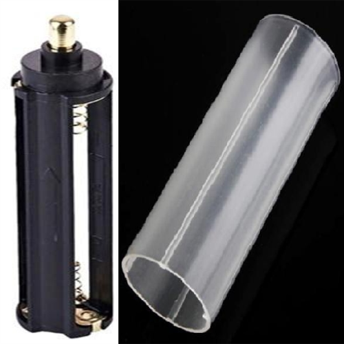 NEW 1600 1200 3800 Lm Flashlight 18650 Battery Extension Tube