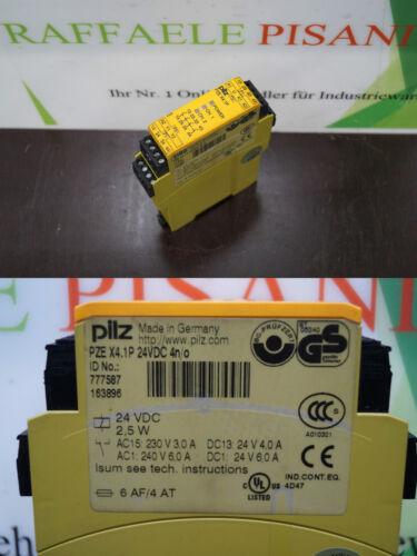 777587  //// PZEX4.1P Pilz PZE X4.1P 24VDC 4n//o