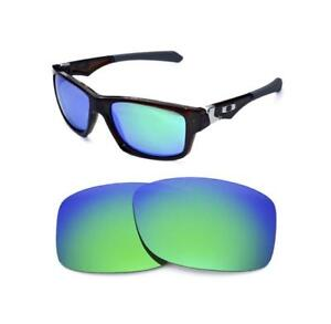 b98fd95226903 Image is loading NEW-POLARIZED-GREEN-REPLACEMENT-LENS-FOR-OAKLEY-JUPITER-