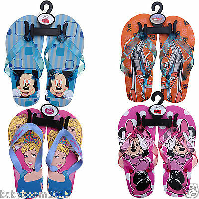 Aufstrebend Disney Kinder Flip Flops Strandsandalen Badeschuhe Badelatschen Zehentrenner Einfach Zu Verwenden