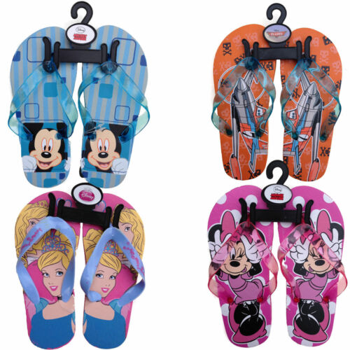 Disney Kinder Flip Flops Strandsandalen Badeschuhe Badelatschen Zehentrenner
