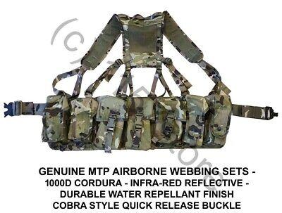British Army MTP Tailored Airborne Webbing Multicam Para with Yoke Cadet