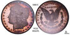 1880-S Morgan Silver Dollar PCGS MS63