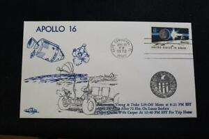 Espace-Housse-1972-Machine-Cancel-Apollo-16-Lunar-Decollage-Orbit-Housse-178
