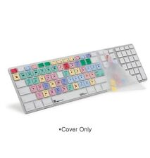 Logickeyboard Finalcut 7 Apple Aluminum Keyboard Skin Shortcut Silicone Cover