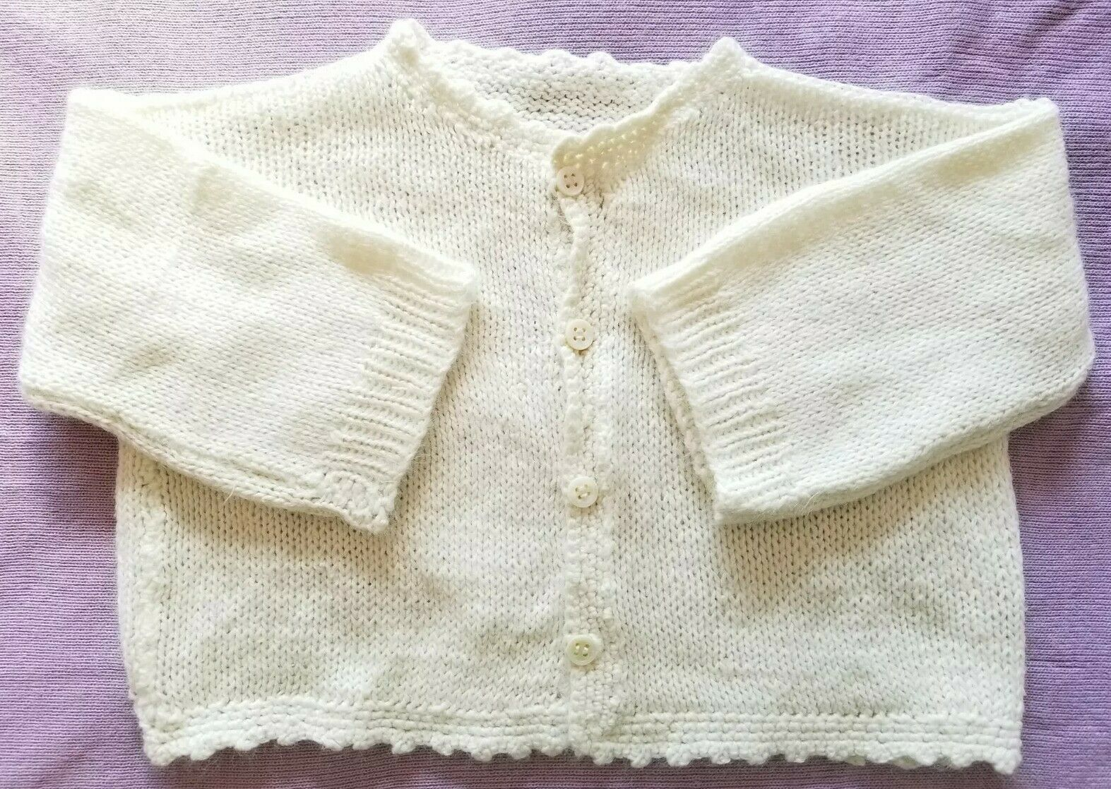 hand knit baby girl cardigan HANDKNIT BABY CARDIGAN hand knit baby sweater 0-3  months baby cardigan pink baby cardigan