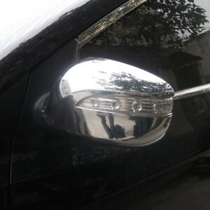 Chrome-Rearview-Side-Wing-Mirror-Cover-Trim-For-Hyundai-Tucson-ix35-2010-2014