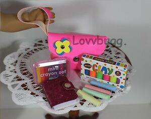 Neon Creative School Supplies Tools American Girl Accessory  LOVV THAT LOVVBUGG!