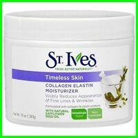St. Ives Timeless Skin Collagen Elastin Facial Moisturizer 10 OZ/ 283g