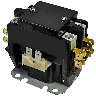 2 Pole AC Contactor 40 Amps 24VAC Coil 50/60HZ Air Conditioner HVAC Part  240A | eBay